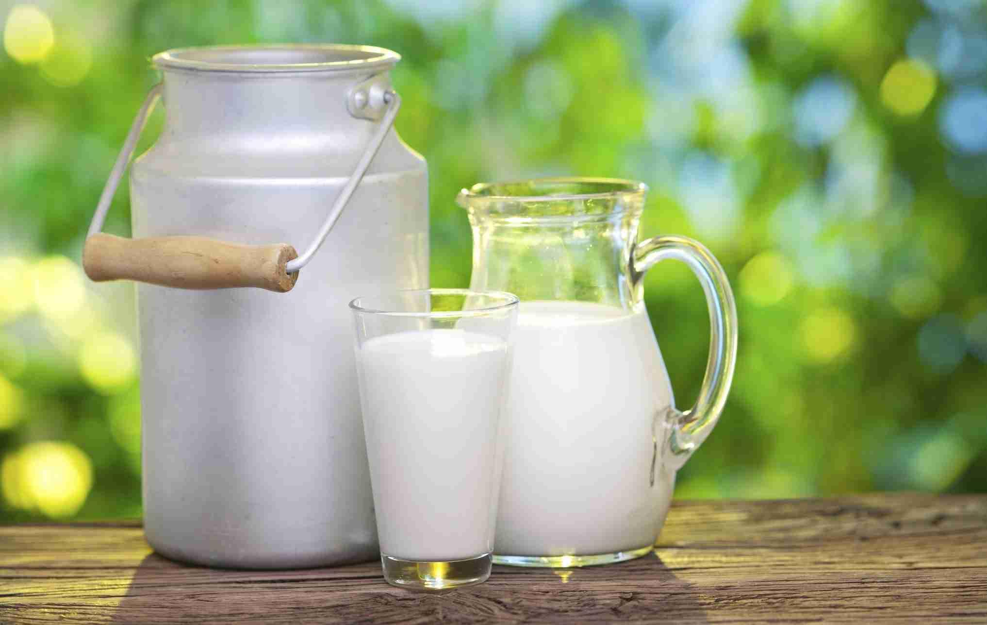Latte fieno