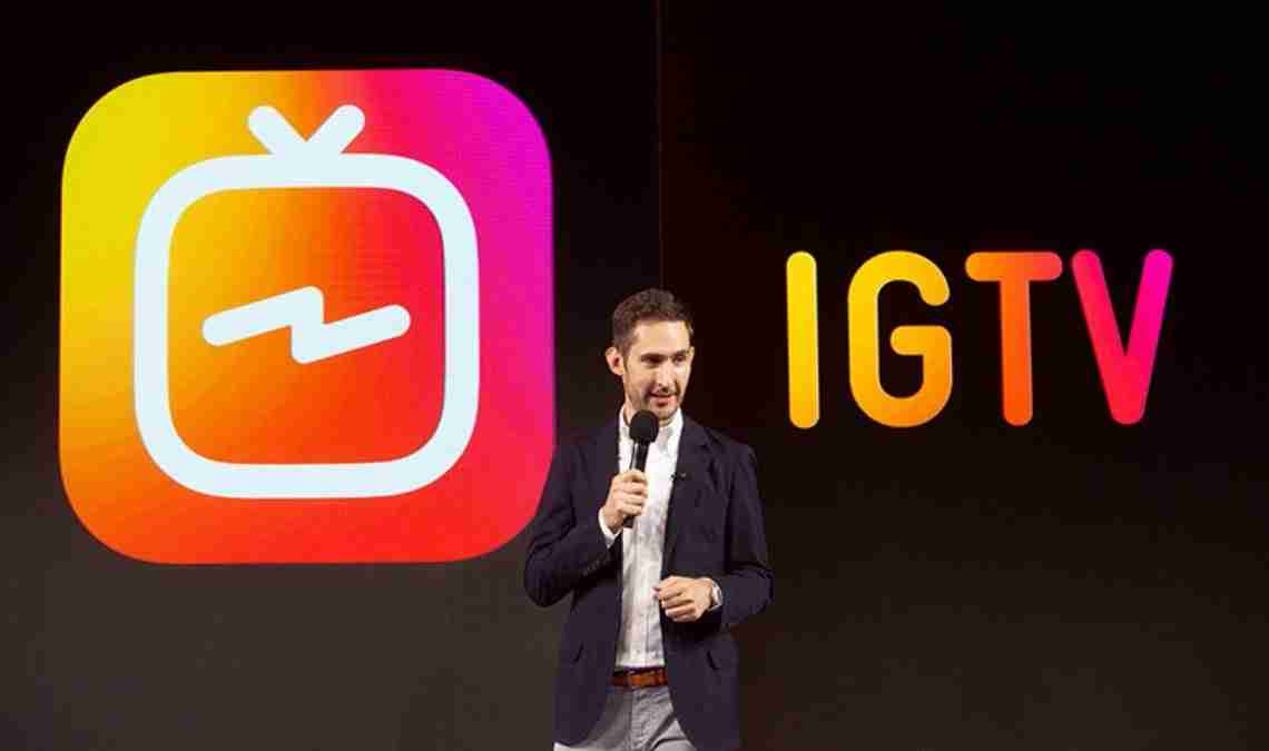 Instagram IGTV, arrivano i video professionali da 10 minuti