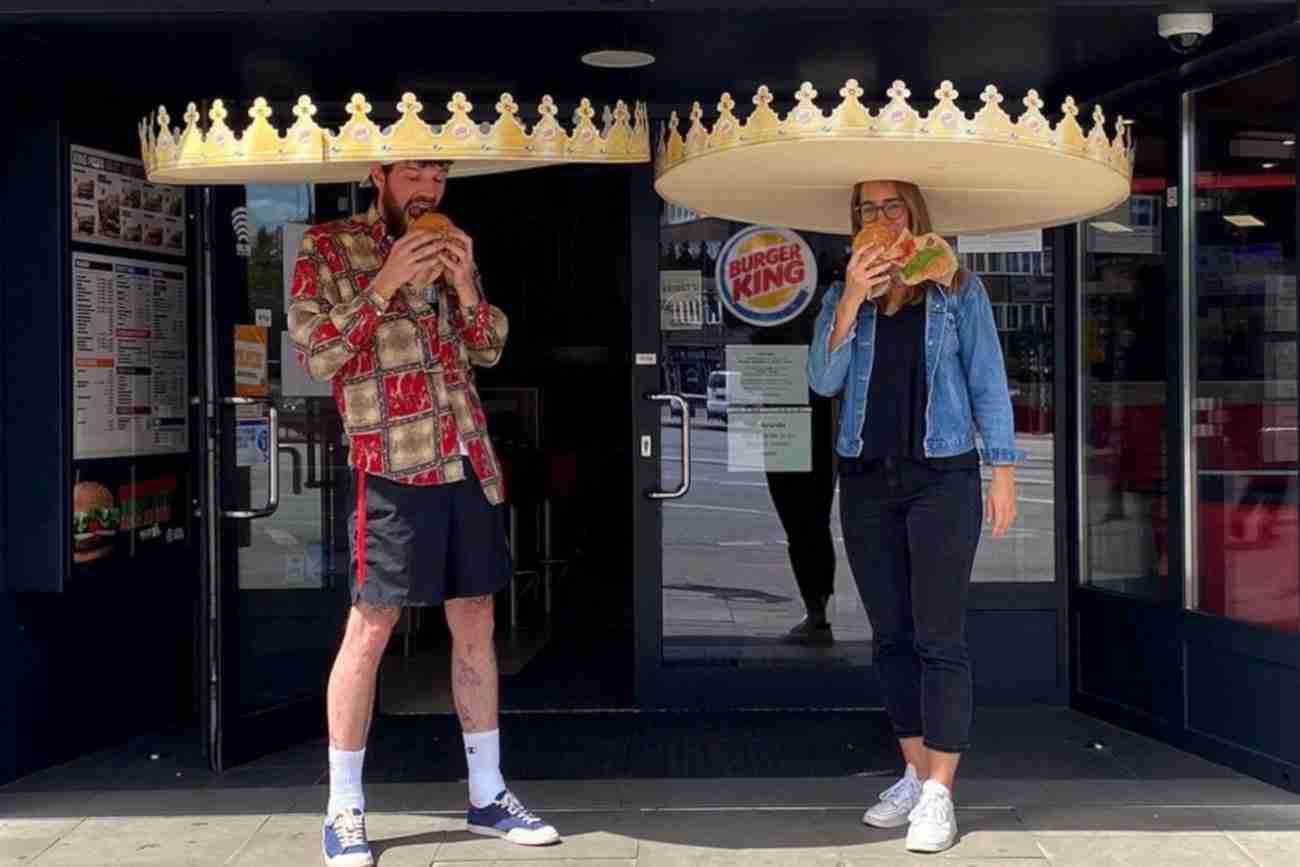 Burger King è il re del distanziamento sociale nella ristorazione